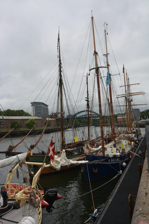 Header image for Tall ships welcomed on Wear